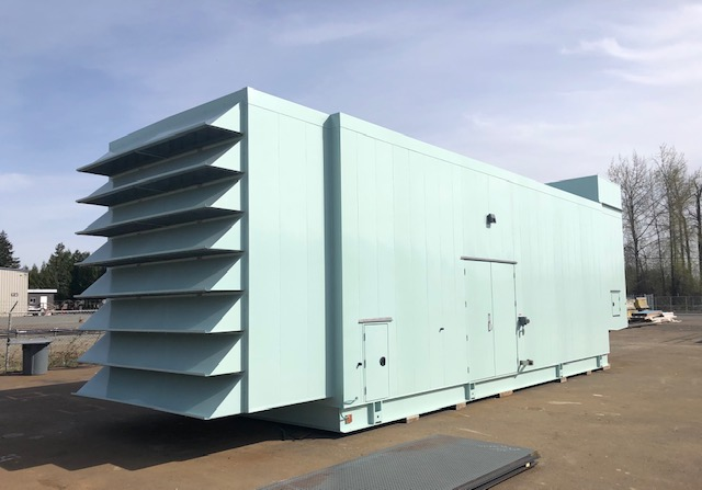 Generator Enclosure by Pacific Enclosures
