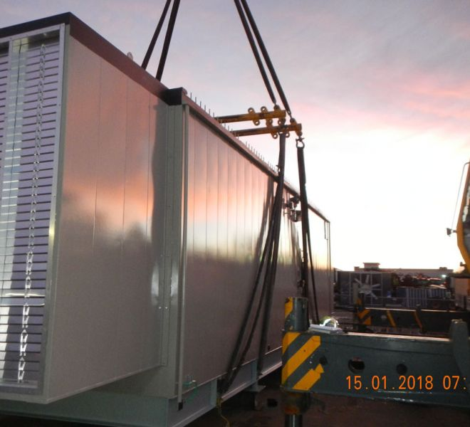 Electrical Buildings by Pacific Enclosures